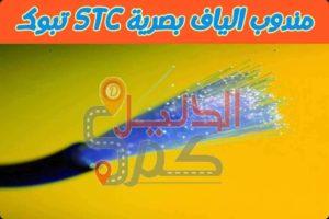 تبوك STC مندوب الياف بصرية