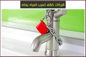 شركات كشف تسرب المياه بمكه