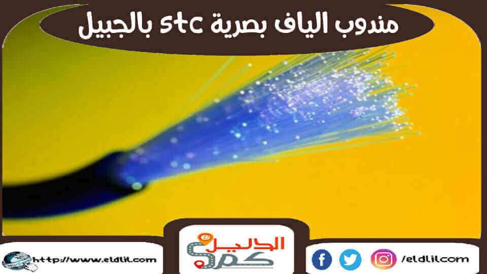 مندوب الياف بصرية stc بالجبيل